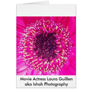 Movie Actress Laura Guillen aka Ishah Photography Card