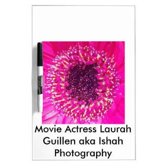 Movie Actress Laura Guillen aka Ishah Photography Dry-Erase Board