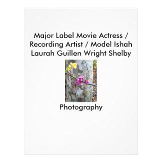 Movie Actress Laura Guillen aka Ishah Photography Flyer