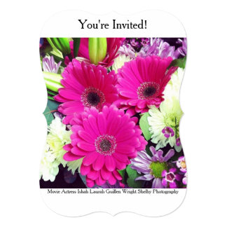 Movie Actress Laura Guillen aka Ishah Photography 5x7 Paper Invitation Card
