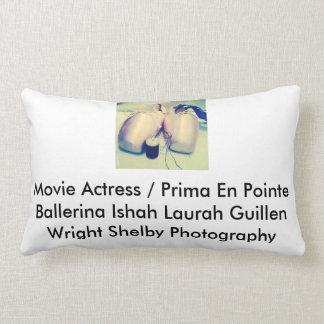 Movie Actress Laura Guillen aka Ishah Photography Pillow