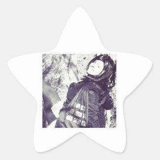 Movie Actress Laura Guillen aka Ishah Star Sticker