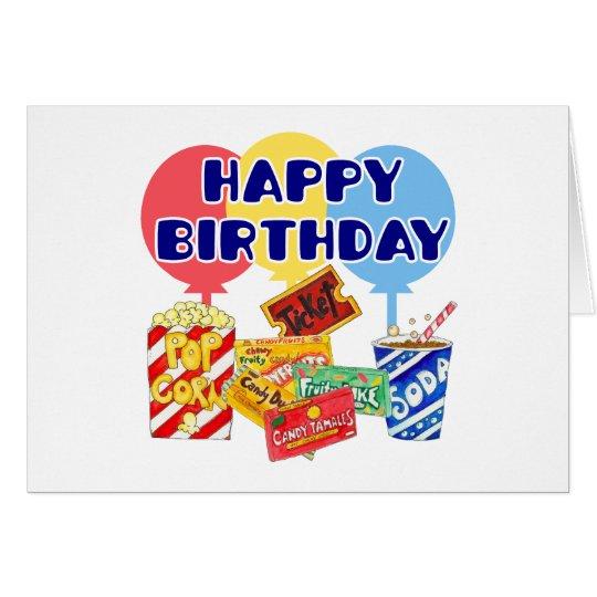 Movie Birthday Card