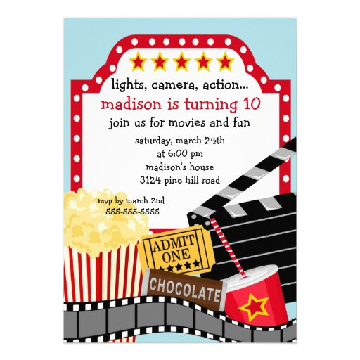 16th Birthday Party A Red Carpet Affair as well Movie poster also Movie Tickets additionally Invitation Danniversaire A Theme Tapis also . on movie awards ticket invitation