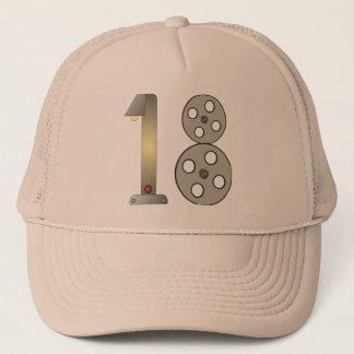 Movie Buff 18th Birthday Gifts Trucker Hat