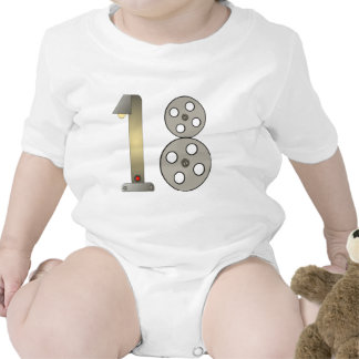 Movie Buff 18th Birthday Gifts Tshirts