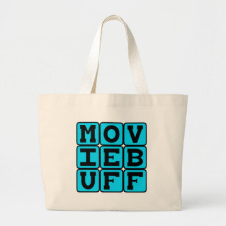 Movie Buff, Knower of Film Trivia Canvas Bags