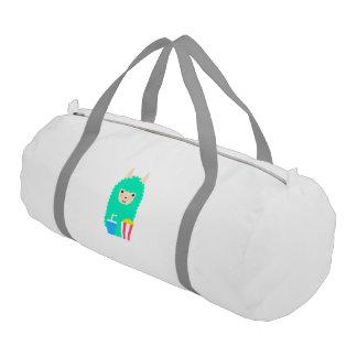 Movie Buff Llama Emoji Gym Bag