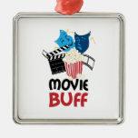 Movie Buff Metal Ornament
