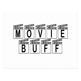 Movie Buff T-shirts and Gifts. Postcard