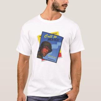 Movie Call GI Film Festival Vintage Poster TShirt