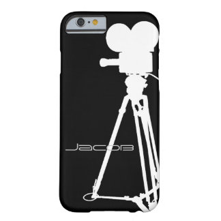 Movie Camera Barely There iPhone 6 Case