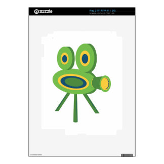Movie Camera Decal For iPad 2