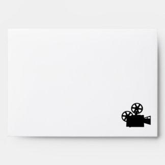 Movie Camera Envelope