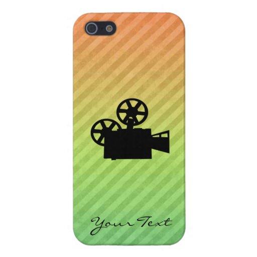 Movie Camera iPhone 5 Cases