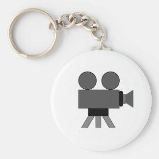 Movie Camera Keychain