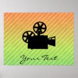 Movie Camera Poster