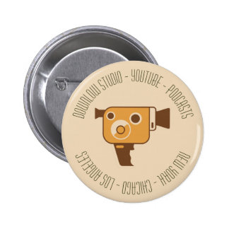Movie Camera Production Customized 2 Inch Round Button
