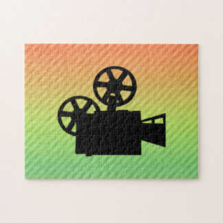 Movie Camera Jigsaw Puzzles