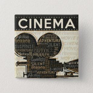 Movie Camera Reel Button