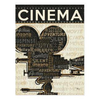 Movie Camera Reel Post Card