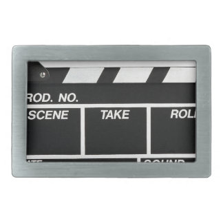 Movie Camera Side Belt Buckle