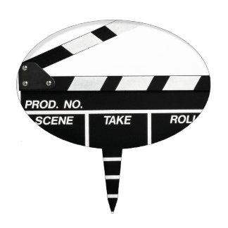 Movie Camera Side Cake Topper