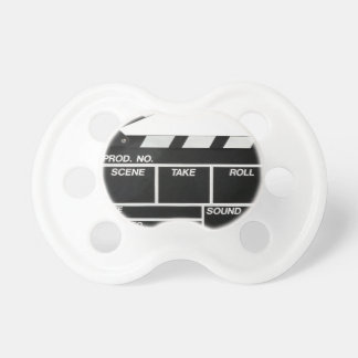 Movie Camera Side Pacifier
