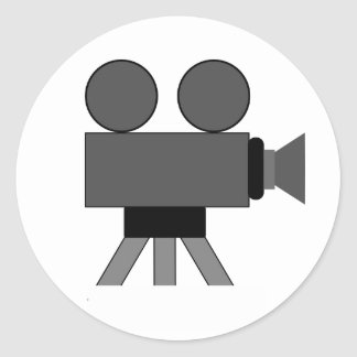 Movie Camera Stickers