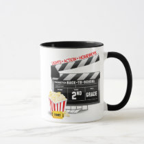 Movie Clapboard 2nd Grade Mug