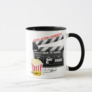 Movie Clapboard 2nd Grade Mug