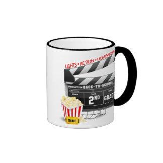 Movie Clapboard 2nd Grade Coffee Mugs