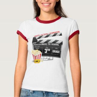 Movie Clapboard 3rd Grade T-Shirt