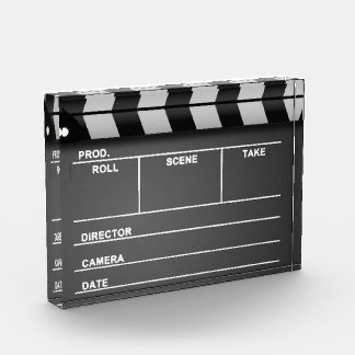Movie Clapboard Acrylic Award