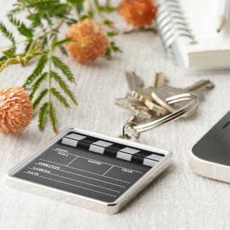 Movie Clapboard Keychain
