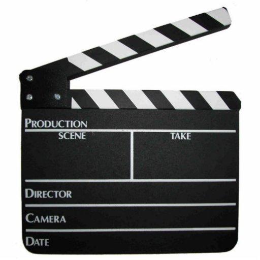 Movie Clapboard Slate Keychain Photo Sculptures Zazzle