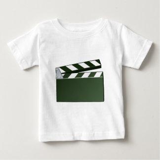 Movie Clapper Board Background Baby T-Shirt