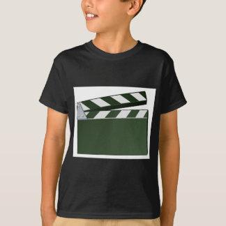 Movie Clapper Board Background T-Shirt