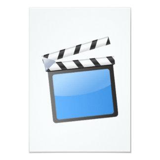 Movie Clapper Board Card