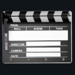 "Movie Clapper Board Dry Erase-Board<br><div class=""desc"">Movie Clapper Dry Erase Board</div>"