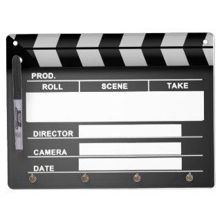 Movie Clapper Board Dry Erase-Board