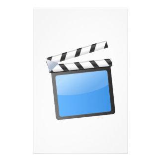 Movie Clapper Board Stationery Design