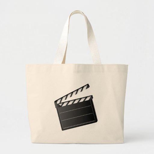 Movie Clapper Canvas Bag
