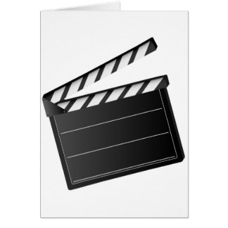 Movie Clapper Greeting Card