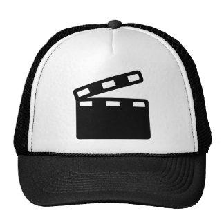 Movie clapper cinema trucker hat