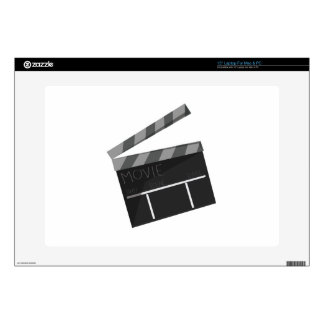 Movie Clapper Decal For Laptop