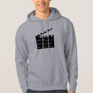 Movie clapper hoodie