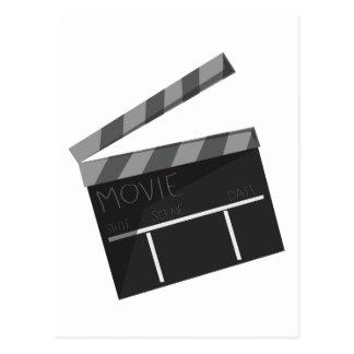 Movie Clapper Postcard