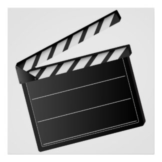 Movie Clapper Poster