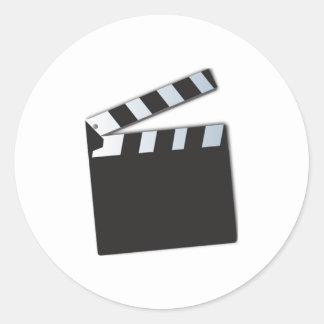 Movie film stickers